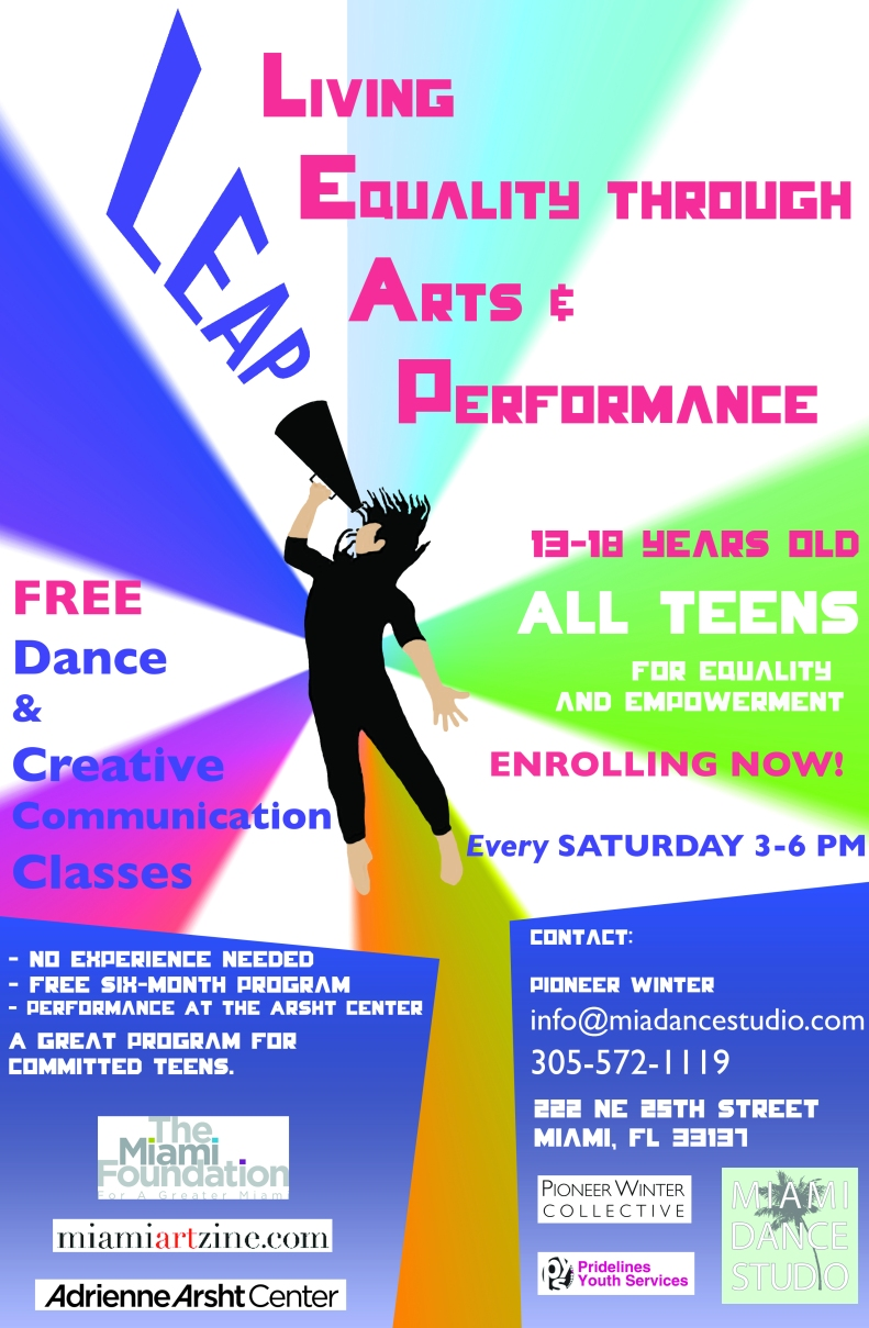 Project LEAP - A free dance program for Teens!